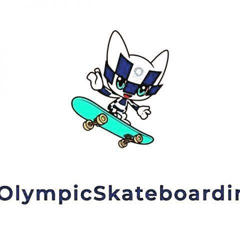 Olimpinis riedlenčių sporto talismanas